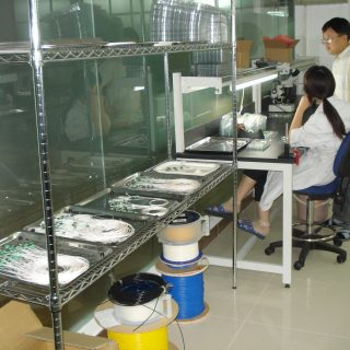 FBG Order at Quality Control Gate
