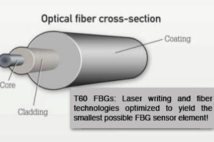 T60 Small Diameter Fiber (Thin) FBG