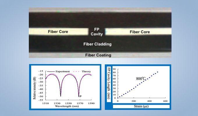 TFP10 Micro Fabry-Perot Strain Sensor to +700C