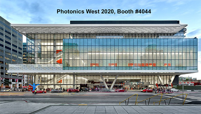 Moscone Center, Photonics West 2020