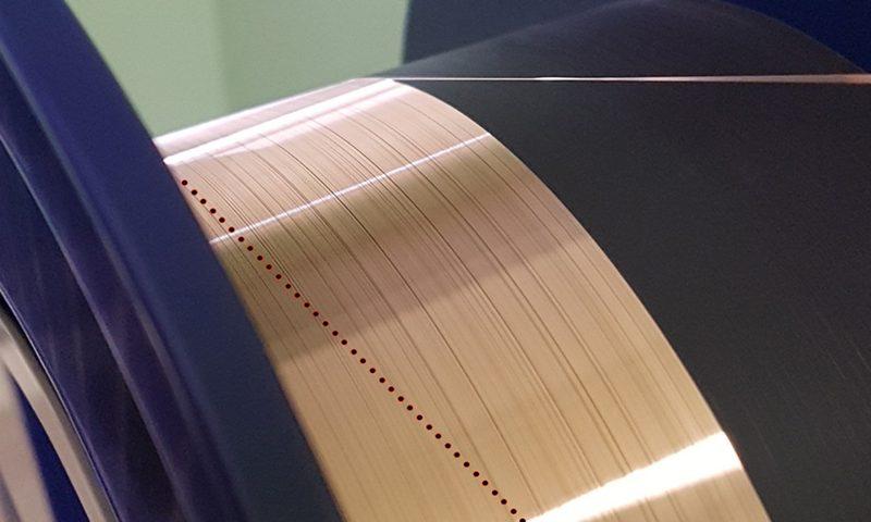 copper coated fiber based FGB