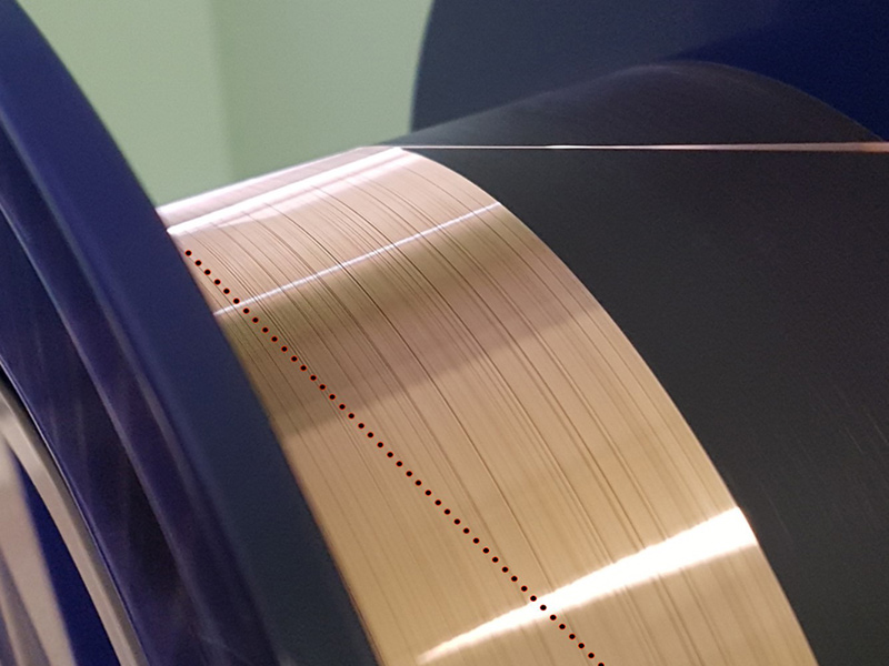 copper coated fiber based FGB
