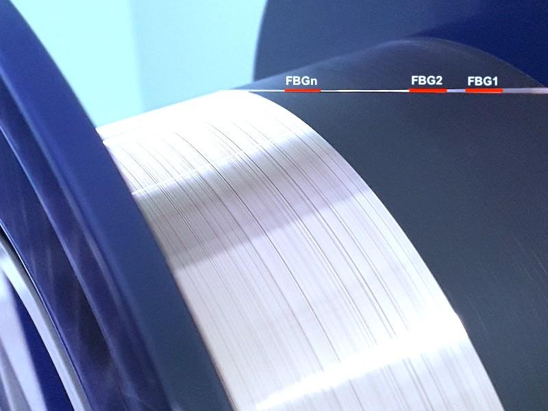Aluminum Coated Fiber FBG